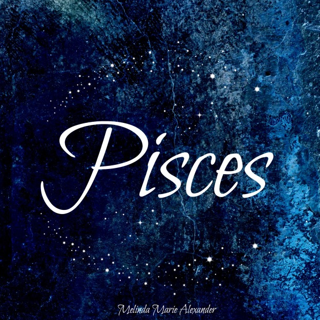 Pisces with text